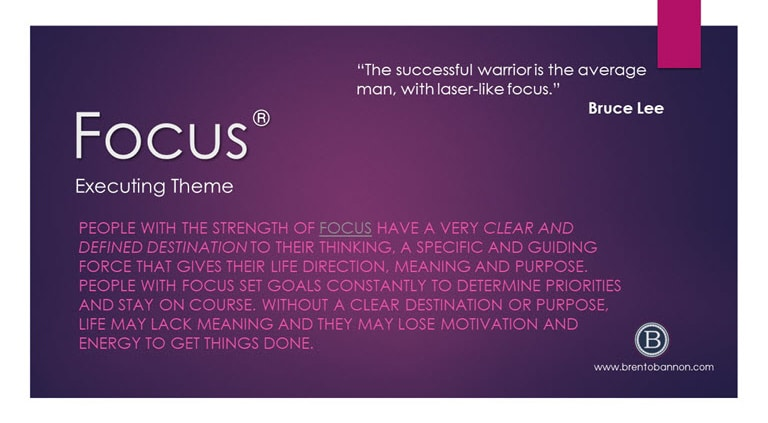 Focus Executing Theme