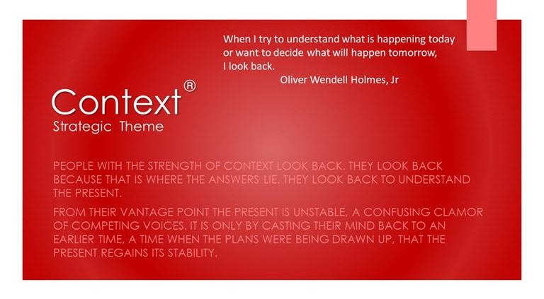 Context Strategic Theme