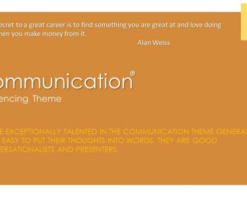 Communication Influencing Theme