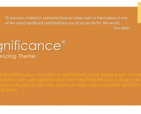 Significance Influence Theme