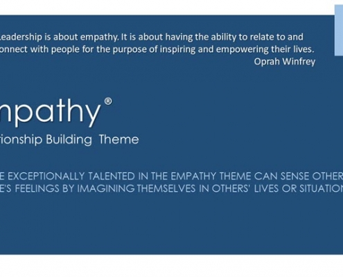Empathy Relationship Building Theme