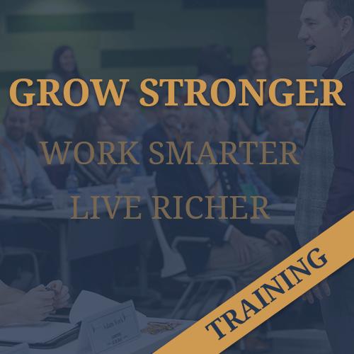Grow Stronger Training Image